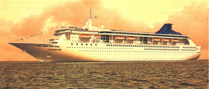 cruise ship to sale